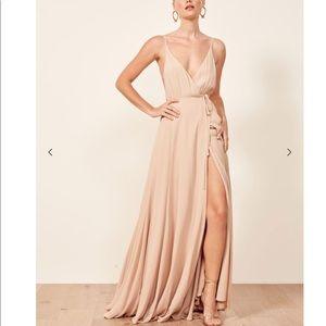 Reformation Dress in gorgeous blush pink